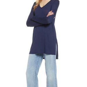 halogen tunic top